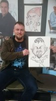 Iron Bridges Telford Area Art Caricatures